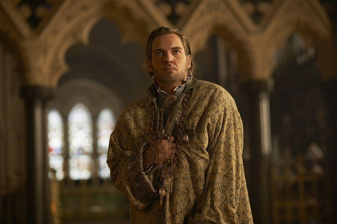 König Henry VIII. (Jonathan Rhys Meyers) erfährt vom Tod seines besten Freundes Charles Brandon und ist erschüttert. Er bemerkt, dass er selbst b... - Bildquelle: 2010 TM Productions Limited/PA Tudors Inc. An Ireland-Canada Co-Production. All Rights Reserved.