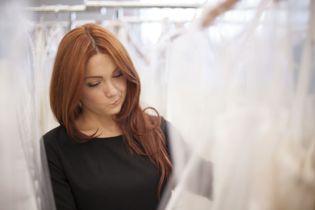Für Barb ist klar, dass es ein Designer-Hochzeitskleid sein soll und trotzdem am besten für den kleinen Geldbeutel ... - Bildquelle: TLC
