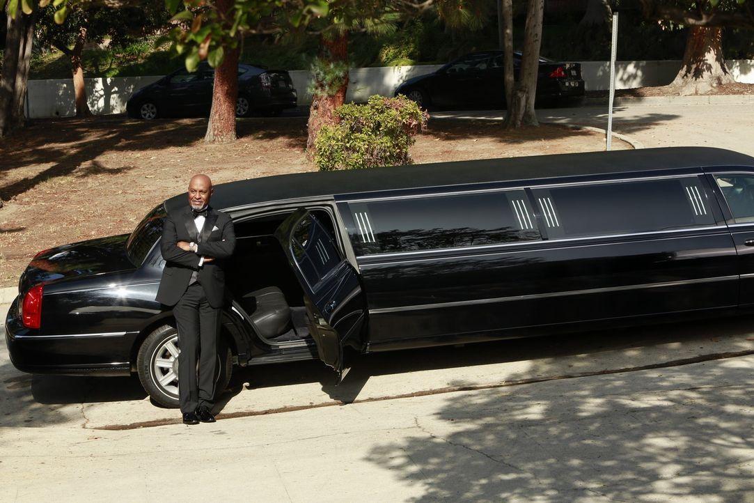 Während sich alle auf Baileys Hochzeit vorbereiten, hilft Webber (James Pickens, Jr.) ihr durch die Phase der kalten Füßen ... - Bildquelle: ABC Studios