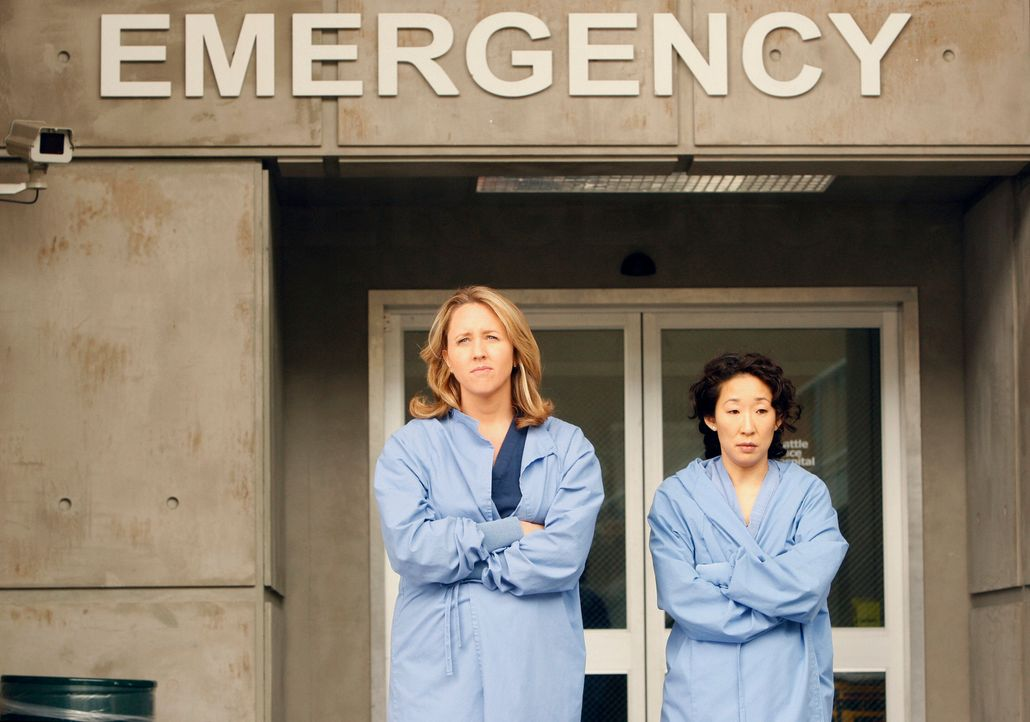 Ein neuer  Arbeitstag wartet auf Erica (Brooke Smith, l.) und Cristina (Sandra Oh, r.) ... - Bildquelle: Touchstone Television