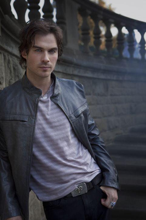 (1. Staffel) - Er liebt es, Menschen zu töten, um sich von ihnen zu ernähren: Damon (Ian Somerhalder) - Bildquelle: Warner Brothers