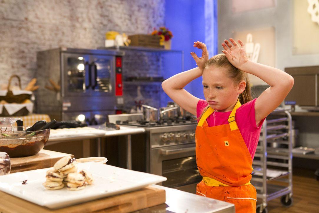 Wird Peggy an der Makronen-Challenge scheitern? - Bildquelle: Adam Rose 2015, Television Food Network, G.P.  All Rights Reserved.