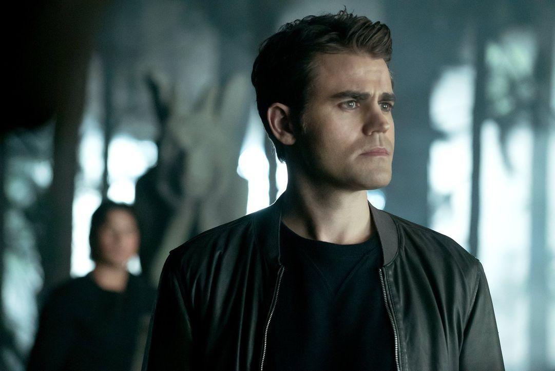 Als Stefan (Paul Wesley) in Damons Verstand eindringt, ahnt er noch nicht, warum er wirklich dort gebraucht wird ... - Bildquelle: Warner Bros. Entertainment, Inc.