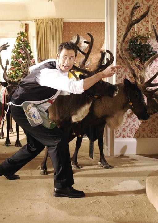 Kurz vor Weihnachten bemerkt Nick Snowden (Tom Cavanagh), dass Buddy, eines von seinen acht Rentieren, fehlt. Damit Weihnachten nicht ausfällt, mac... - Bildquelle: Buena Vista International Television