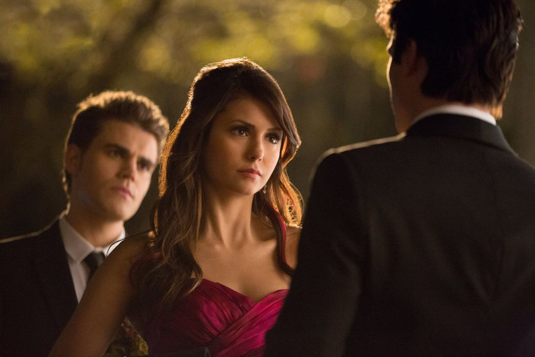 Stefan, Elena und Damon - Bildquelle: Warner Bros. Entertainment Inc.