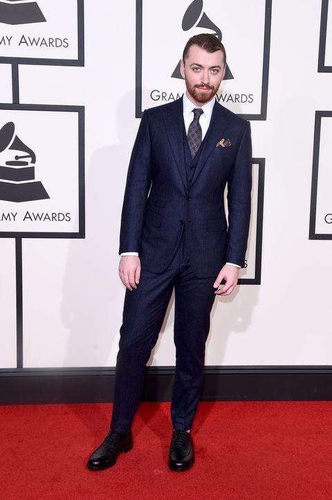 Grammy 2016: Sam Smith - Bildquelle: ason Merritt / GETTY IMAGES NORTH AMERICA / AFP