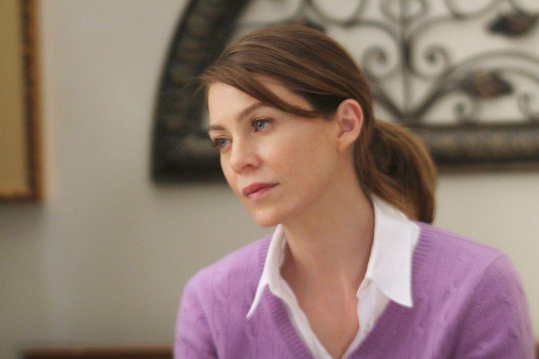 Kann es gar nicht glauben, dass ihr Mutter wieder hellwach im Kopf ist: Meredith (Ellen Pompeo) ... - Bildquelle: Touchstone Television