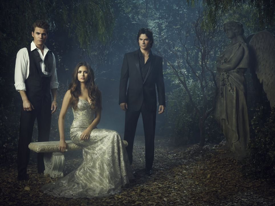(4 .Staffel) - Vampire Diaries - Artwork - Bildquelle: Warner Brothers
