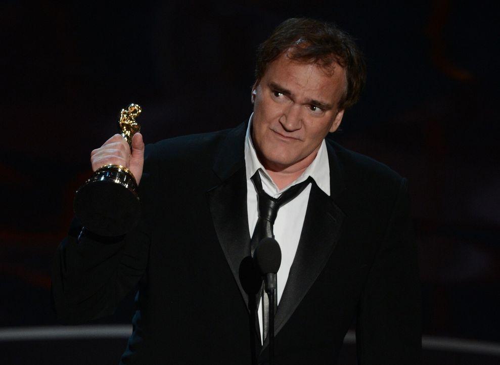Quentin Tarantino gewinnt einen Oscar - Bildquelle: AFP