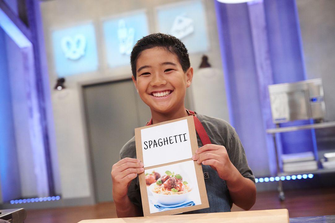 Wer mag keine Spaghetti? Doch Jacksons Spaghetti werden nur das Aussehen mit dem klassischen Nudelgericht gemeinsam haben ... - Bildquelle: Eddy Chen 2014, Television Food Network, G.P. All Rights Reserved