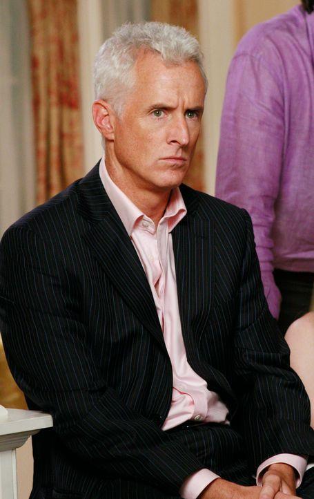 Als am Spieleabend Gabrielles Affäre mit John zur Sprache kommt, ist Victor (John Slattery) mehr als enttäuscht, dass Gaby ihm nichts davon erzählt... - Bildquelle: ABC Studios