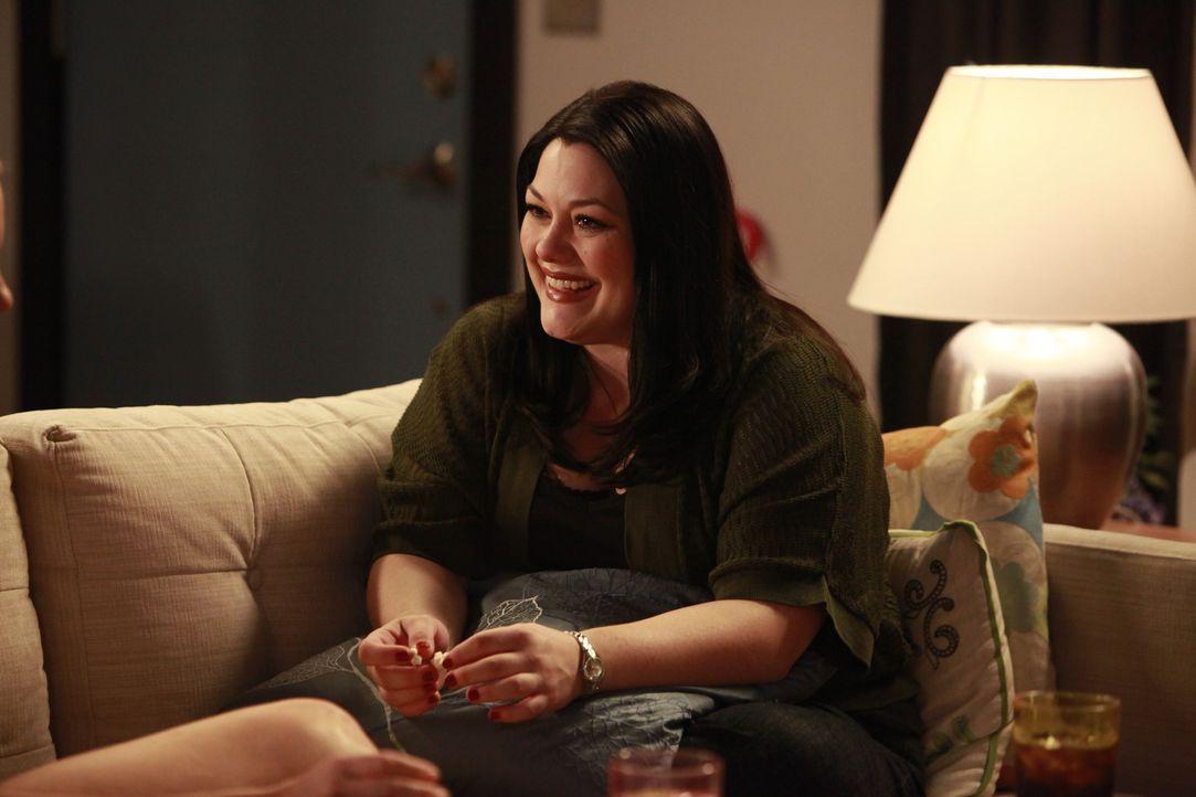 Deb hat sich mittlerweile damit abgefunden, dass sie in Janes (Brooke Elliott) Körper steckt - und sie will ihren Traummann Grayson ein für alle M... - Bildquelle: 2009 Sony Pictures Television Inc. All Rights Reserved.