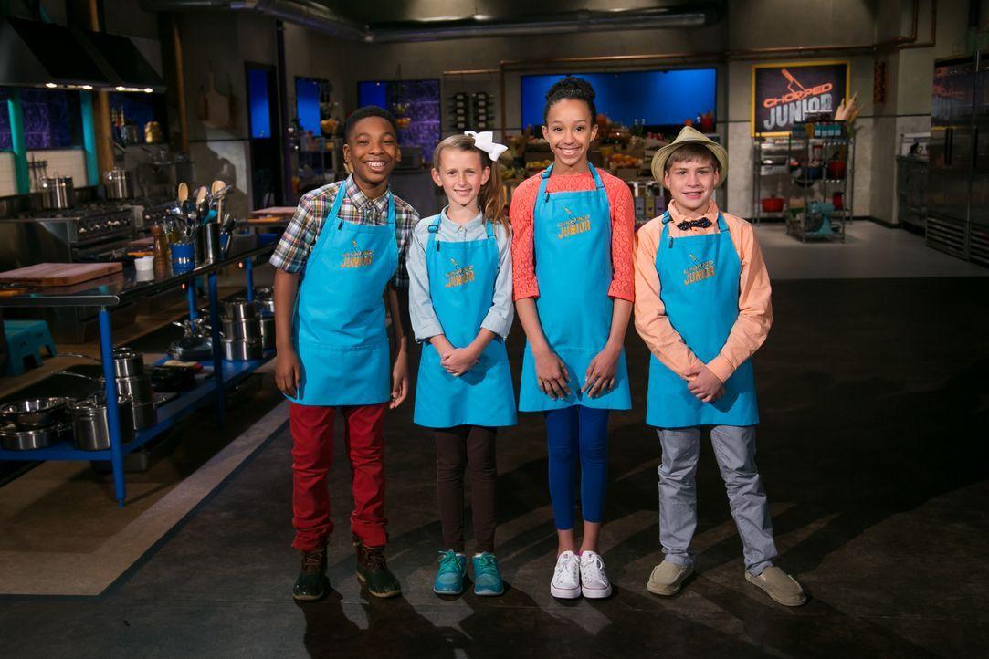 Was werden die jungen Köche heute nur aus den seltsamen Zutaten zaubern, die... - Bildquelle: Susan Magnano 2016, Television Food Network, G.P. All Rights Reserved / Susan Magnano