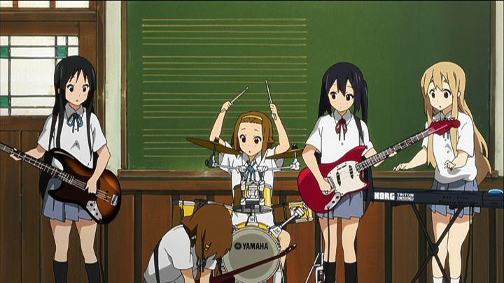 Mio und Ritsu besuchen gemeinsam die Oberschule und gründen eine Band. Auf d... - Bildquelle: kakifly. Houbunsha/Sakura High Band