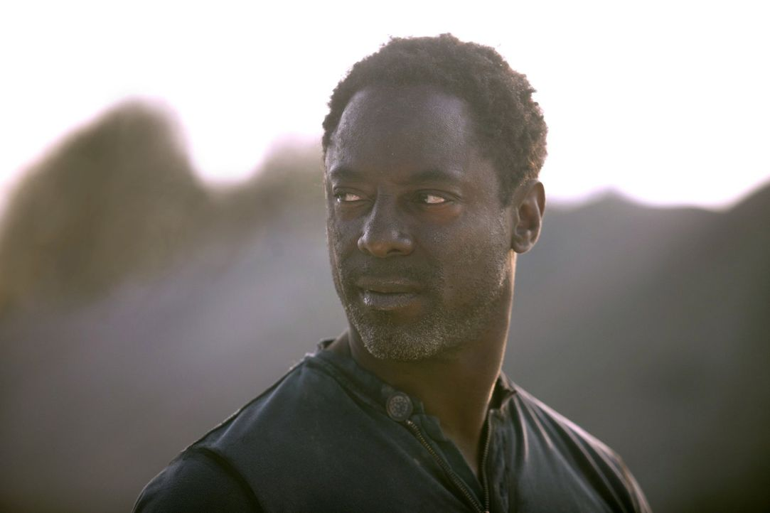 Muss sich erst an die ungewöhnliche Lebenssituation gewöhnen, in die Jaha (Isaiah Washington) mit seiner unkontrollierten Landung gekommen ist ... - Bildquelle: 2014 Warner Brothers