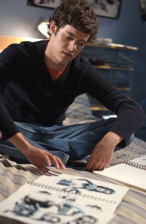 Zach schlägt Seth (Adam Brody) vor, einen Comic zu veröffentlichen ... - Bildquelle: Warner Bros. Television
