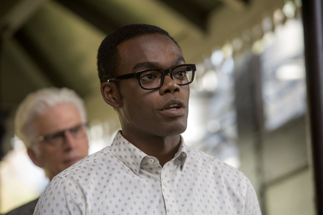 Trägt ein Geheimnis mit sich und weiß nicht, wie er damit umgehen soll: Chidi (William Jackson Harper) ... - Bildquelle: Ron Batzdorff 2016 Universal Television LLC. ALL RIGHTS RESERVED.