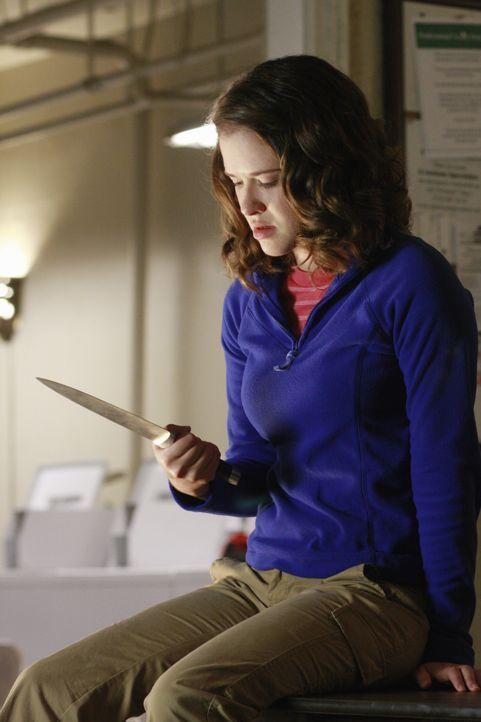 Die Selbstmord gefährdete Chloe Richardson (Sarah Drew) hat sich im Waschkeller verschanzt ... - Bildquelle: 2008 American Broadcasting Companies, Inc. All rights reserved