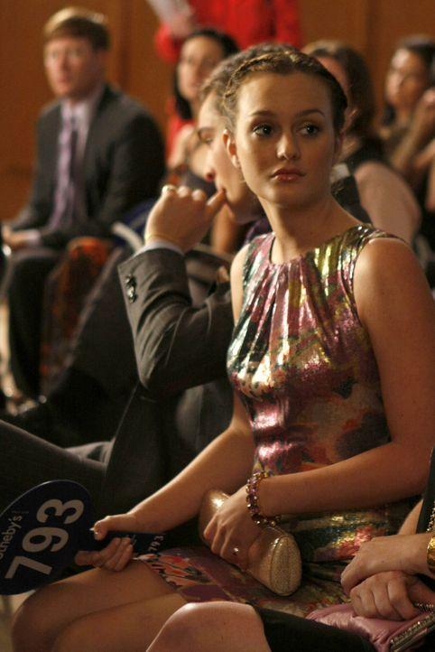 Schock: Nicht Blair (Leighton Meester), sondern ein Dritter hat das gewünschte Bild ersteigert  ... - Bildquelle: Warner Brothers