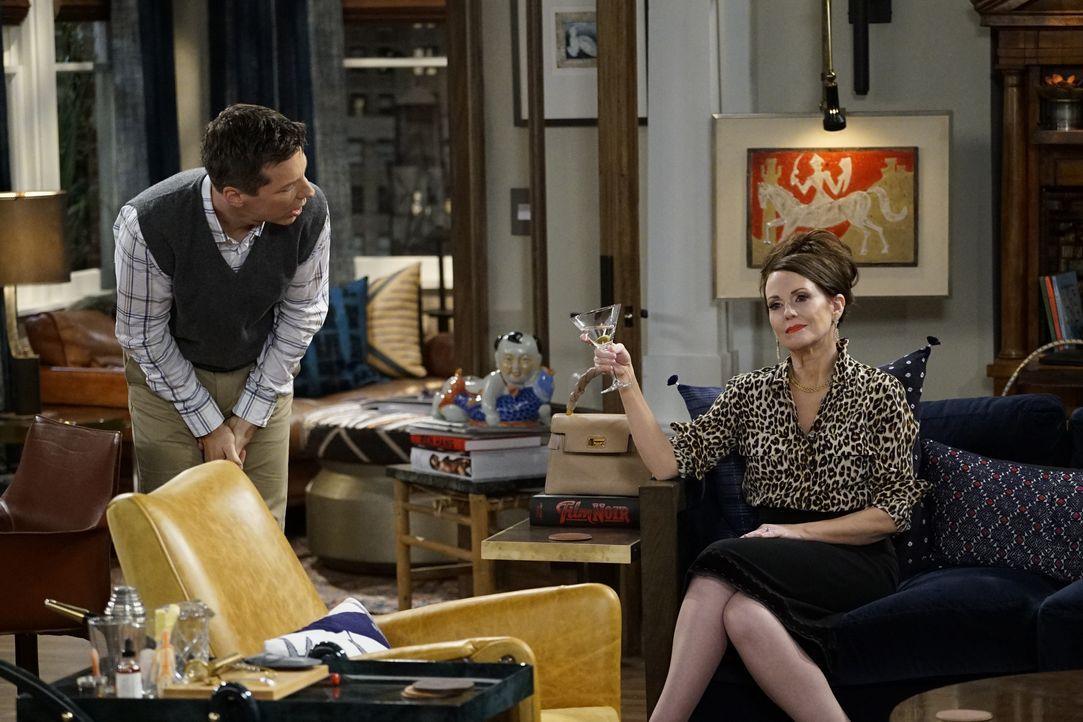 Jack (Sean Hayes, l.) und Karen (Megan Mullally, r.) bringen ihre Freunde in eine unangenehme Situation ... - Bildquelle: Chris Haston 2017 NBCUniversal Media, LLC / Chris Haston
