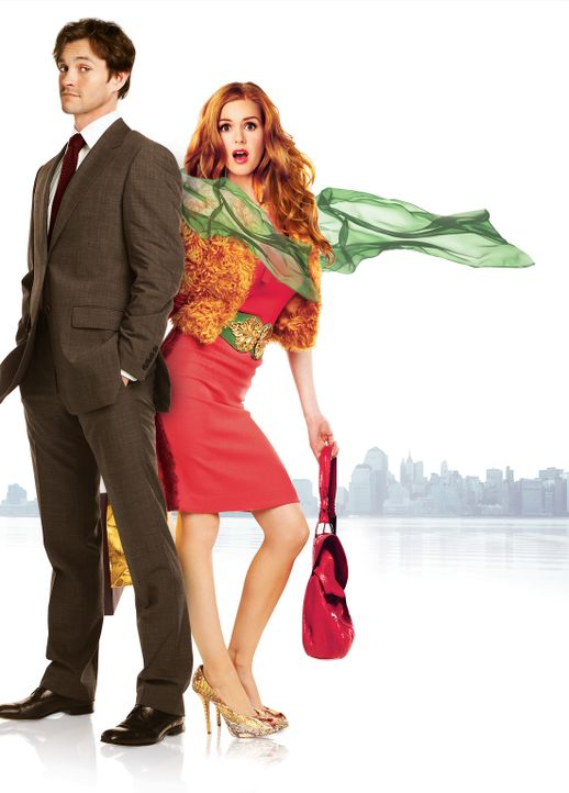 Shopaholic - Die Schnäppchenjägerin: Rebecca Bloomwood (Isla Fisher, r.) und Luke Brandon (Hugh Dancy, l.) ... - Bildquelle: Touchstone Pictures and Jerry Bruckheimer, Inc. All Rights Reserved