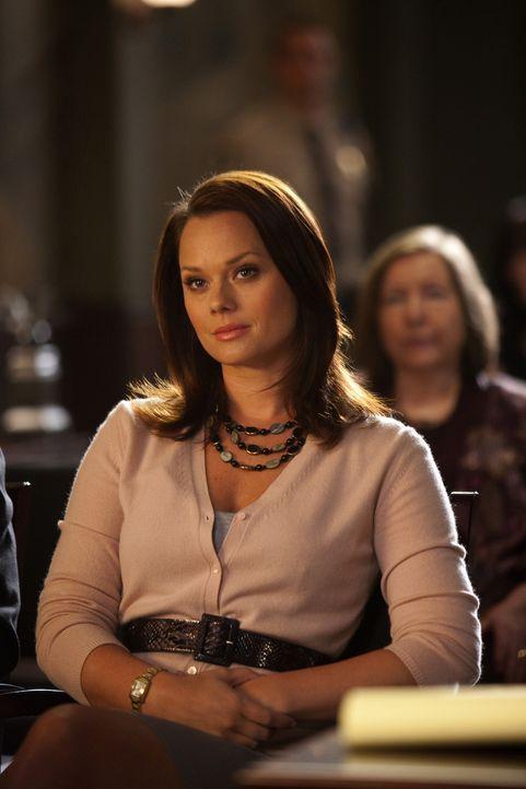 In Graysons Plädoyer erkennt Kim (Kate Levering) den wahren Grund, wieso er sich nicht wirklich auf sie einlassen kann - und zieht ihre Konsequenze... - Bildquelle: 2009 Sony Pictures Television Inc. All Rights Reserved.