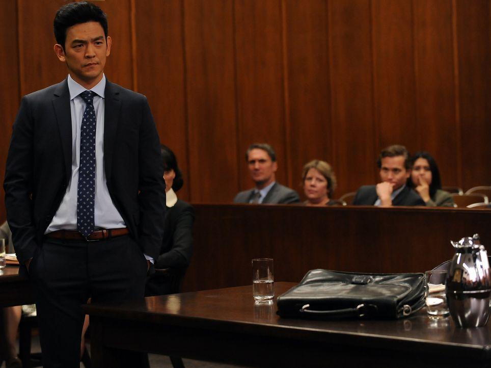 Daniel Grant (John Cho) ist geschockt, als Jess sich bei der Geschworenen Befragung alles andere als pflichtbewusst gibt. Doch warum schießt sich di... - Bildquelle: 2016 Fox and its related entities.  All rights reserved.
