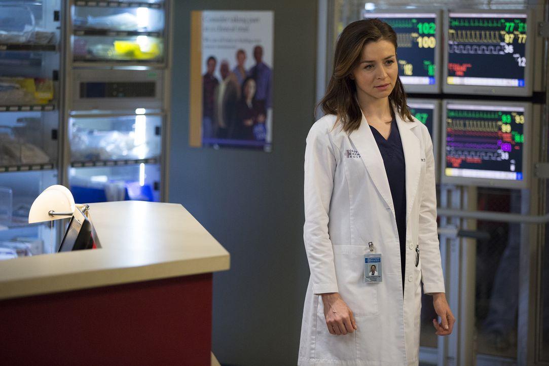 Stellt eine neue Behandlungsmethode bei einer Neuropatientin vor: Amelia (Caterina Scorsone) ... - Bildquelle: John Fleenor ABC Studios