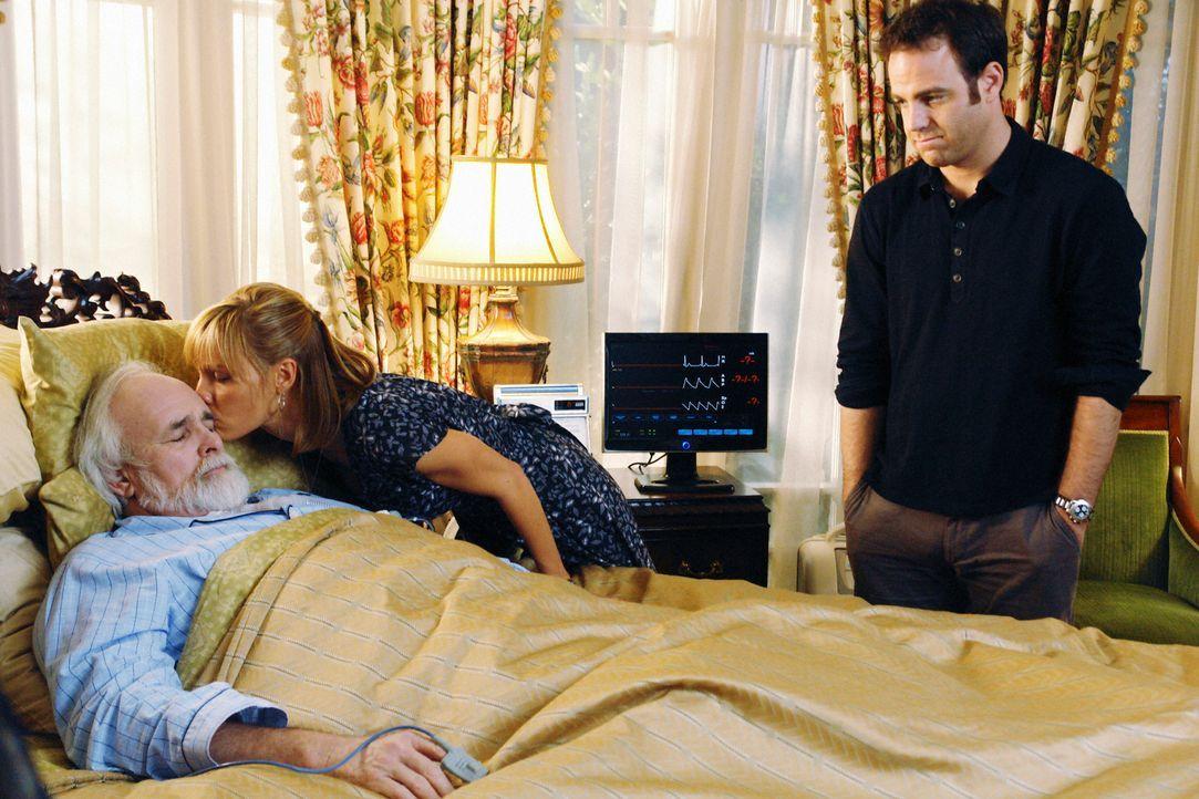 Während sich Violet zeitgleich mit Pete und Sheldon trifft, kommt Cooper (Paul Adelstein, r.) Charlotte (KaDee Strickland, M.) näher, als ihr Vater... - Bildquelle: ABC Studios