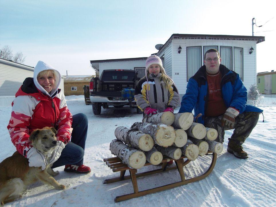 Vor einem Jahr sind Isabella (l.) und Sven (r.) nach Kanada ausgewandert. Das Problem: Sven darf nicht mehr so viele Truck-Touren fahren wie bisher,... - Bildquelle: kabel eins
