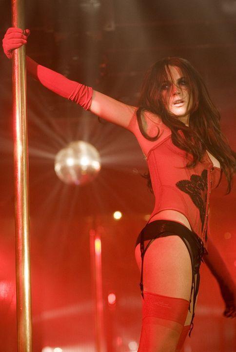 Nach ihrer Entführung ist Aubrey (Lindsay Lohan) felsenfest davon überzeugt, dass sie die Stripperin Dakota Moss ist, eine Figur, die sie einmal für... - Bildquelle: Sony 2007 CPT Holdings, Inc.  All Rights Reserved.