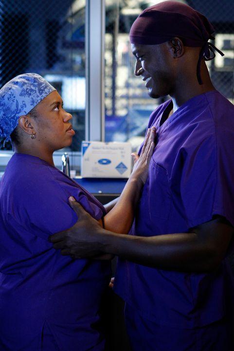 Nach einer erfolgreich abgeschlossenen Operation kommen sich Sam (Taye Diggs, r.) und Miranda (Chandra Wilson, l.) überraschend näher ... - Bildquelle: ABC Studios