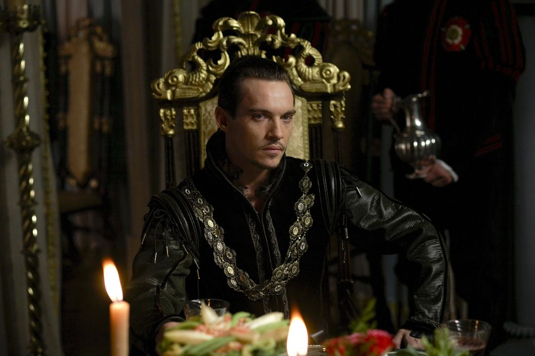 König Henry (Jonathan Rhys Meyers) hat sich mit Anna von Klewe für eine Bewerberin nach seinem Geschmack entschieden, doch dummerweise stellt sich b... - Bildquelle: 2009 TM Productions Limited/PA Tudors Inc. An Ireland-Canada Co-Production. All Rights Reserved.