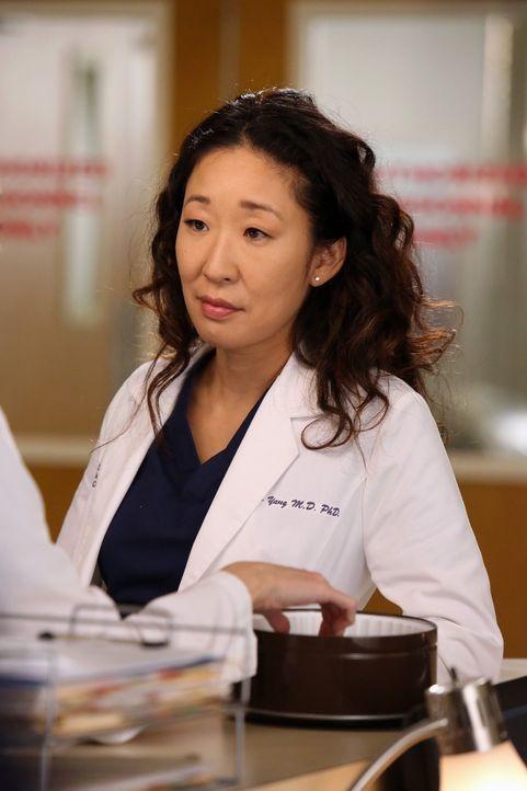 Cristina (Sandra Oh) und Meredith unterhalten sich über Cristinas aktuellen Beziehungsstatus mit Owen, denn die beiden nähern sich offenbar seit ihr... - Bildquelle: ABC Studios