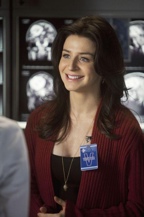 Während Owen und Cristina eine Paartherapie machen, reist Amelia (Caterina Scorsone) nach Seattle um Derek um Hilfe bei der Rettung von Erica zu bit... - Bildquelle: ABC Studios
