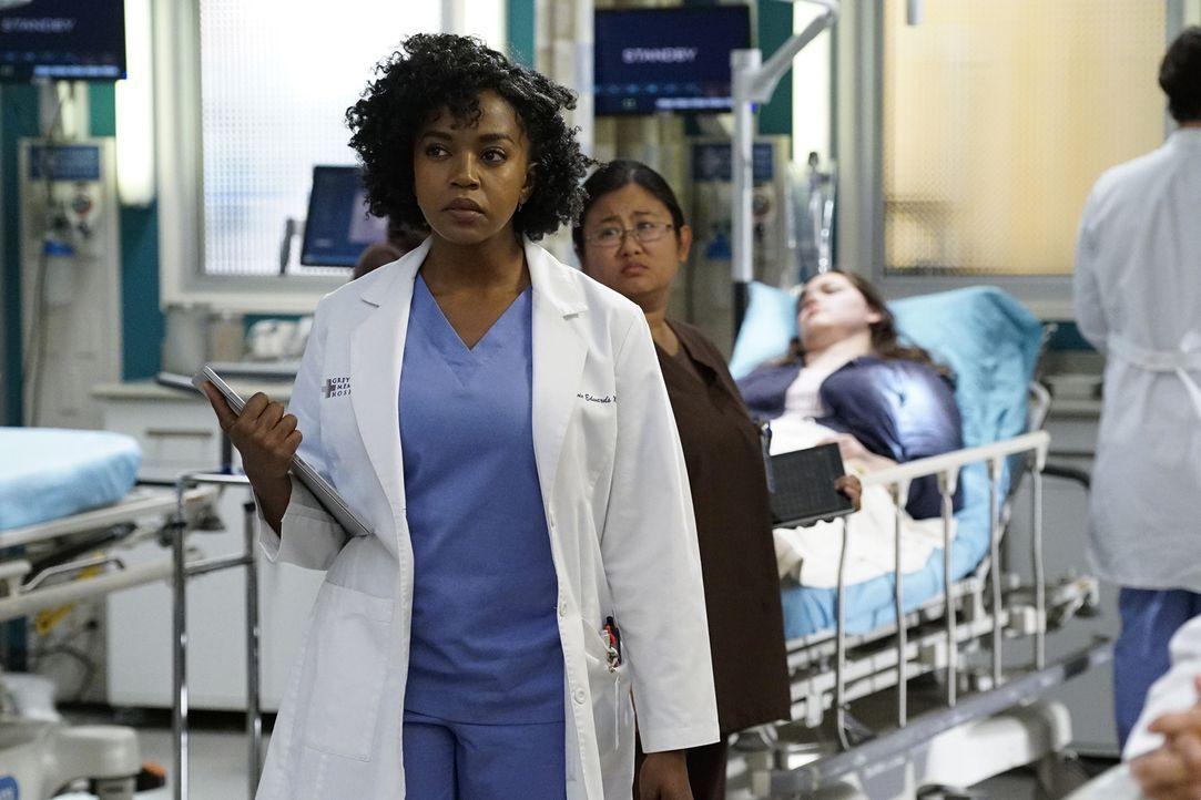 Während der Sorgerechtstreit von Callie und Arizona vor Gericht geht, bereut Stephanie (Jerrika Hinton) die Trennung von Kyle ... - Bildquelle: Kelsey McNeal ABC Studios