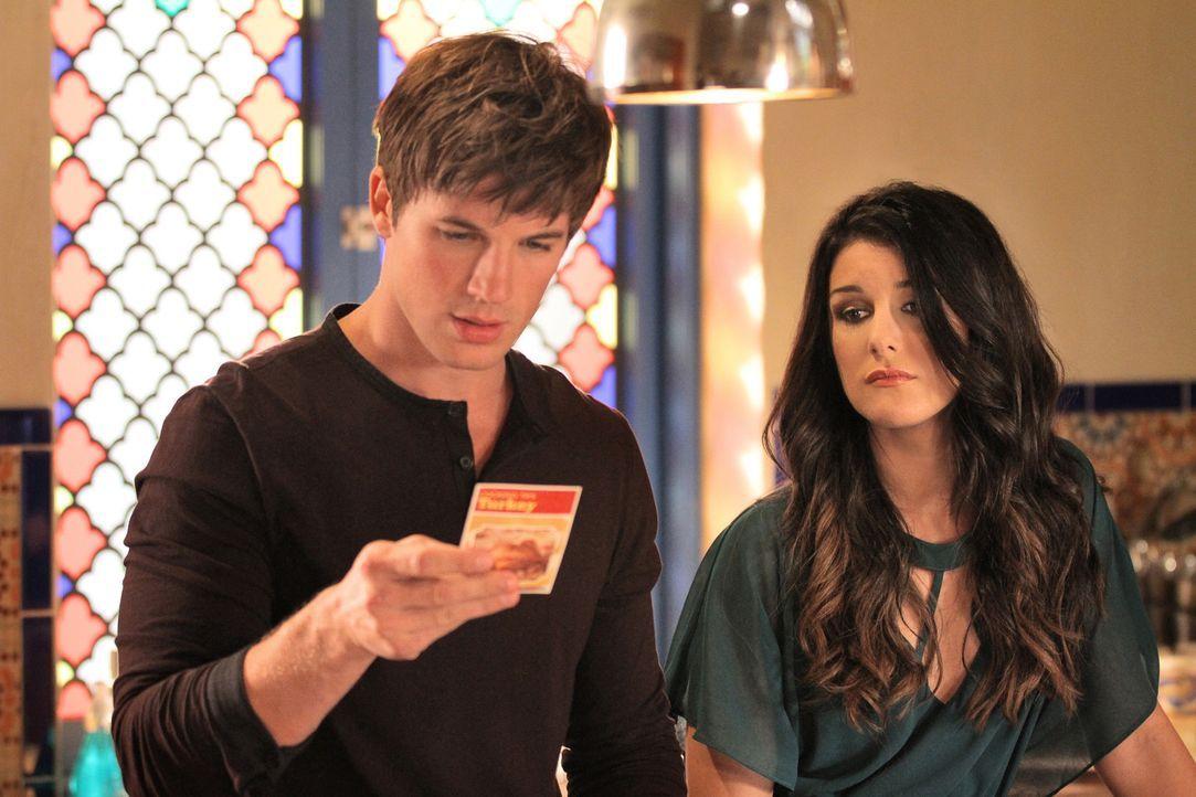 Feiern zusammen mit ihren Freunden Thanksgiving: Liam (Matt Lanter, l.) und Annie (Shenae Grimes, r.) - Bildquelle: 2011 The CW Network. All Rights Reserved.