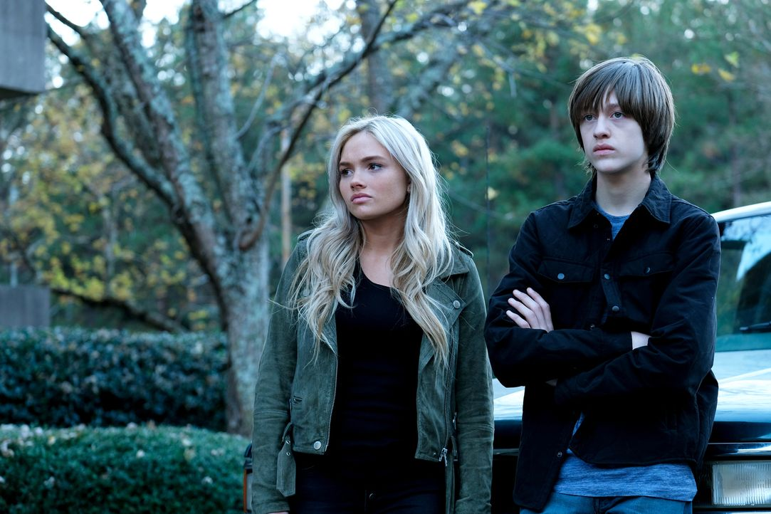 Lauren (Natalie Alyn Lind, l.); Andy (Percy Hynes White, r.) - Bildquelle: Eliza Morse 2017 Fox and its related entities.  All rights reserved.  MARVEL TM &   2017 MARVEL/Eliza Morse