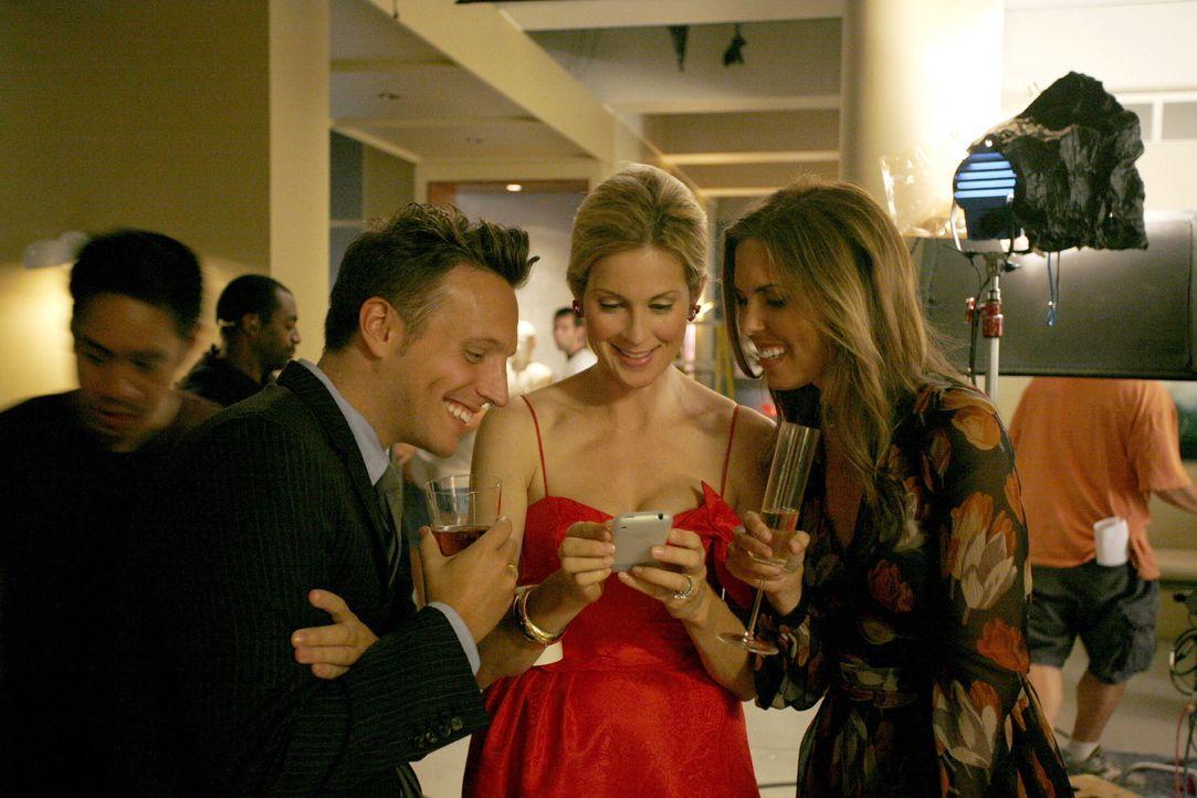 """Bei den Dreharbeiten zu """"Gossip Girl"""" ... - Bildquelle: Warner Brothers"""