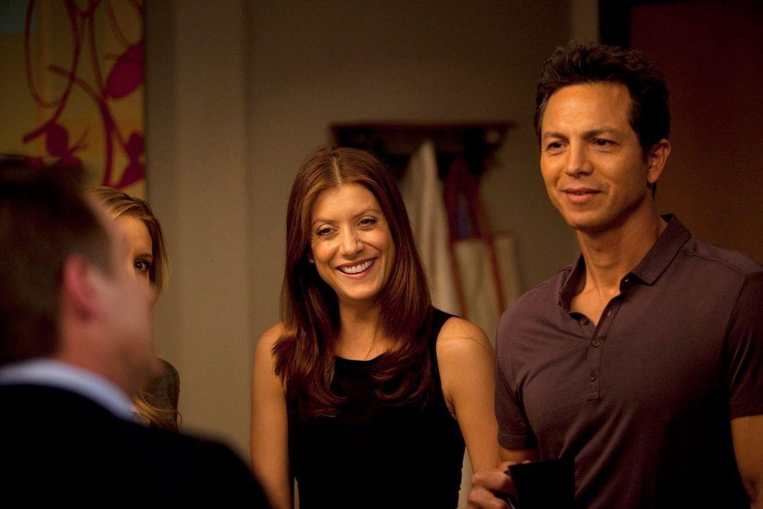 Wie wird es mit Addison (Kate Walsh, l.) und Jake (Benjamin Bratt, r.) weitergehen? - Bildquelle: ABC Studios