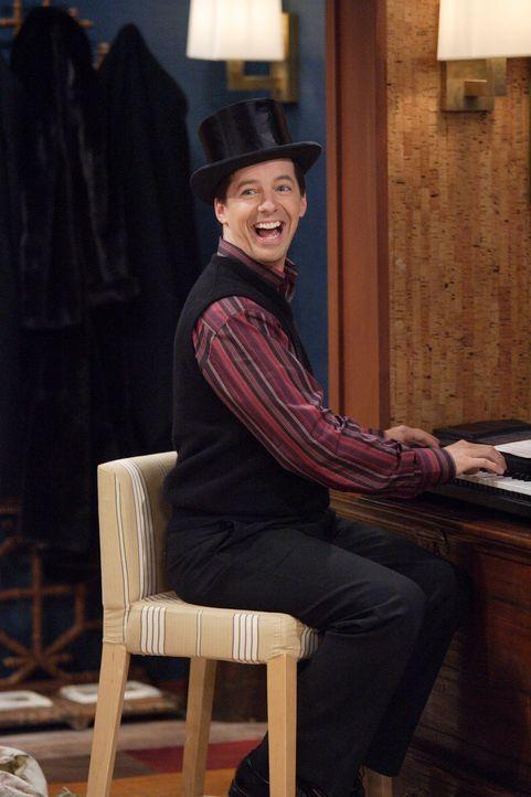 Gibt sein musikalisches Talent zum Besten: Jack (Sean Hayes) ... - Bildquelle: Paul Drinkwater NBC Productions