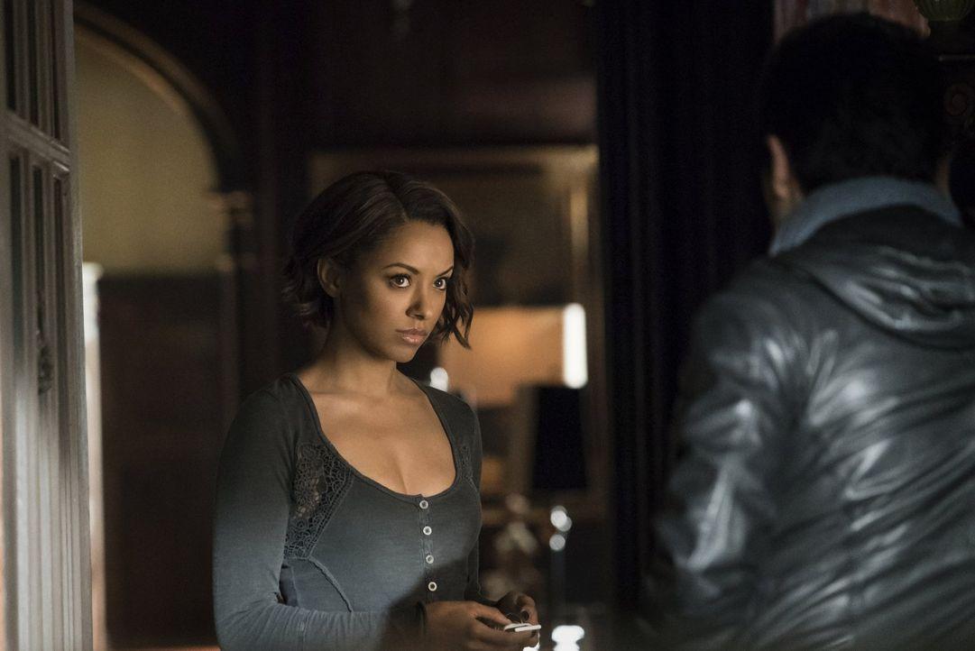 Albträume treiben Bonnie (Kat Graham) an den Rand der Verzweiflung. Zusammen mit Matt, will sie der Quelle auf den Grund gehen und tappt dabei in ei... - Bildquelle: Warner Bros. Entertainment, Inc