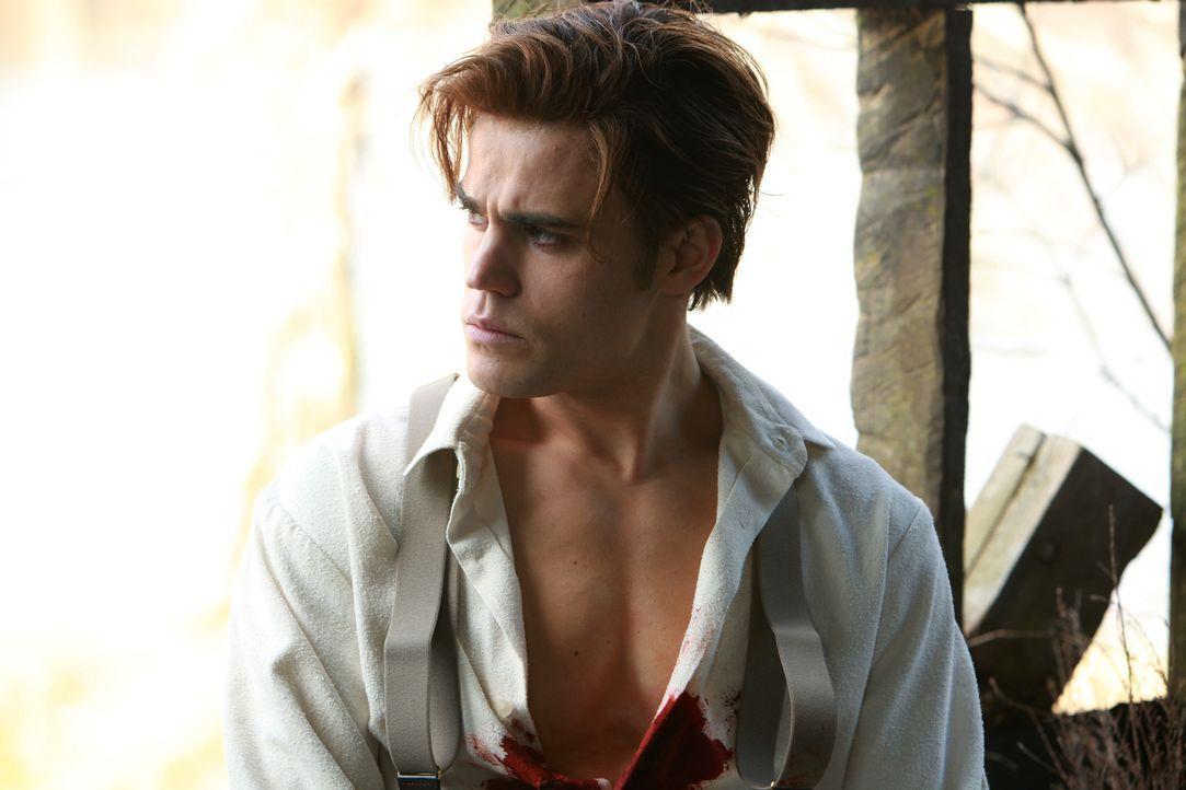 Nur durch einen magischen Ring ist Stefan (Paul Wesley) noch am Leben. Allerdings muss er dafür einen hohen Preis zahlen: Er wird ein Vampir ... - Bildquelle: Warner Bros. Television
