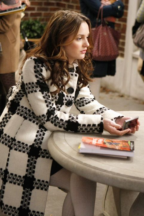 Ist geschockt, als sie erfährt, dass sie nur auf der Warteliste für Yale steht: Blair (Leighton Meester) ... - Bildquelle: Warner Brothers