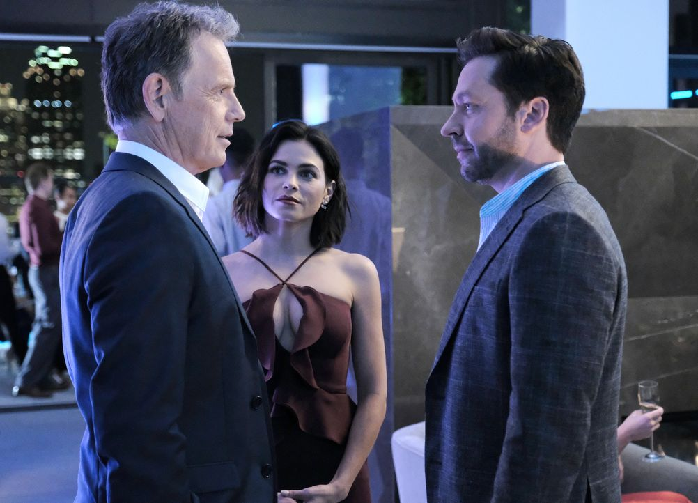 (v.l.n.r.) Dr. Randolph Bell (Bruce Greenwood); Julian Booth (Jenna Dewan); Gordon Page (Michael Weston) - Bildquelle: Guy D'Alema 2018-2019 Twentieth Century Fox Film Corporation. All rights reserved. / Guy D'Alema
