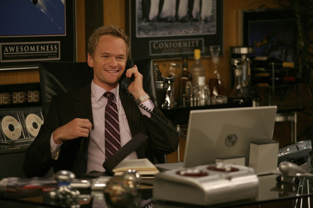 """Barney (Neil Patrick Harris) befindet sich auf der Suche nach einem neuen """"Bro"""", was sich als gar nicht so einfach darstellt ... - Bildquelle: 20th Century Fox International Television"""