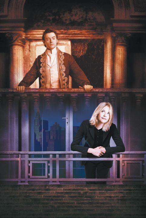 Von einem Ausflug ins Jahr 1876 bringt Kate McKays (Meg Ryan, unten) Ex-Freund Stuart versehentlich das umwerfendste Mannsbild in die Gegenwart mit,... - Bildquelle: 20th Century Fox of Germany