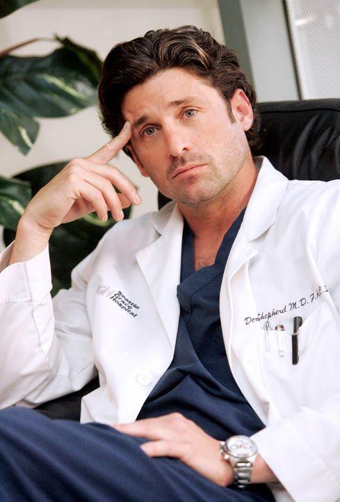 Derek (Patrick Dempsey) möchte Meredith zurück - doch will sie das auch? - Bildquelle: Touchstone Television
