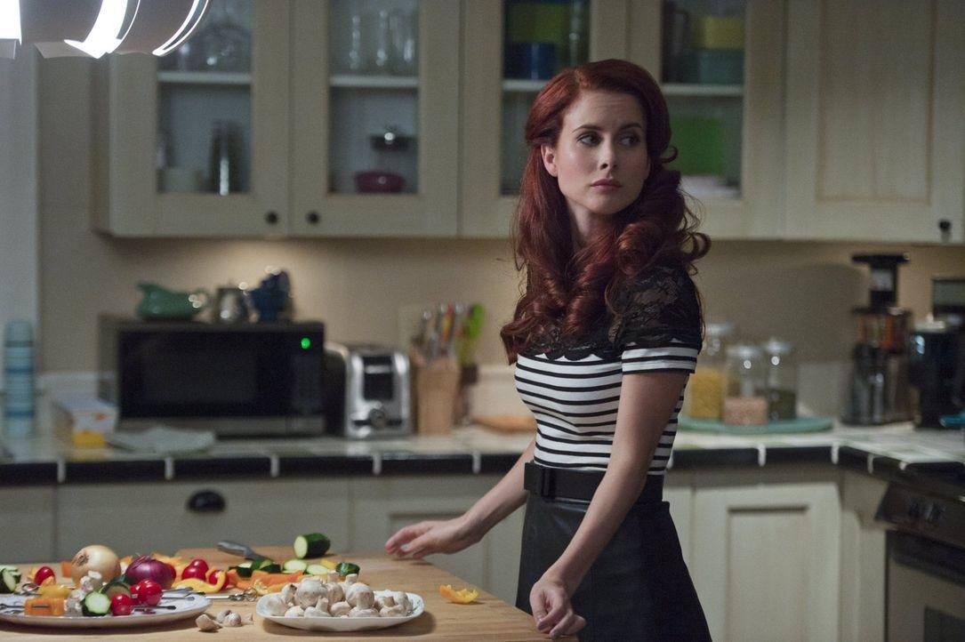 Gilda (Leanne Lapp) gefällt es überhaupt nicht, dass Major und Liv sich wieder näher kommen und vor allem nicht, wenn das für sie bedeutet, dass Maj... - Bildquelle: 2014 Warner Brothers