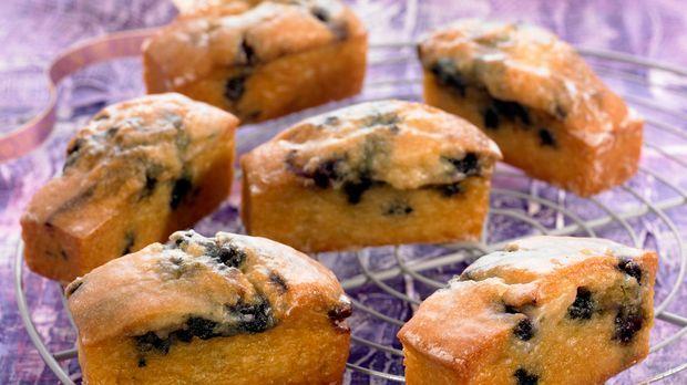 Mini kuchen mit blaubeeren rezept for Minikuche mit geschirrspuler